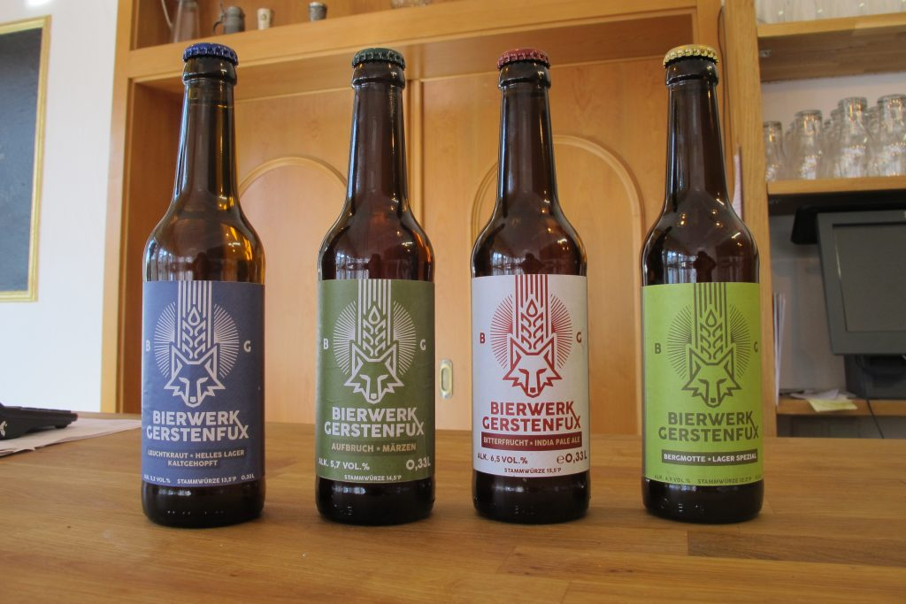 Die Gerstenfux-Biere. Foto: Kerstin Fritzsche