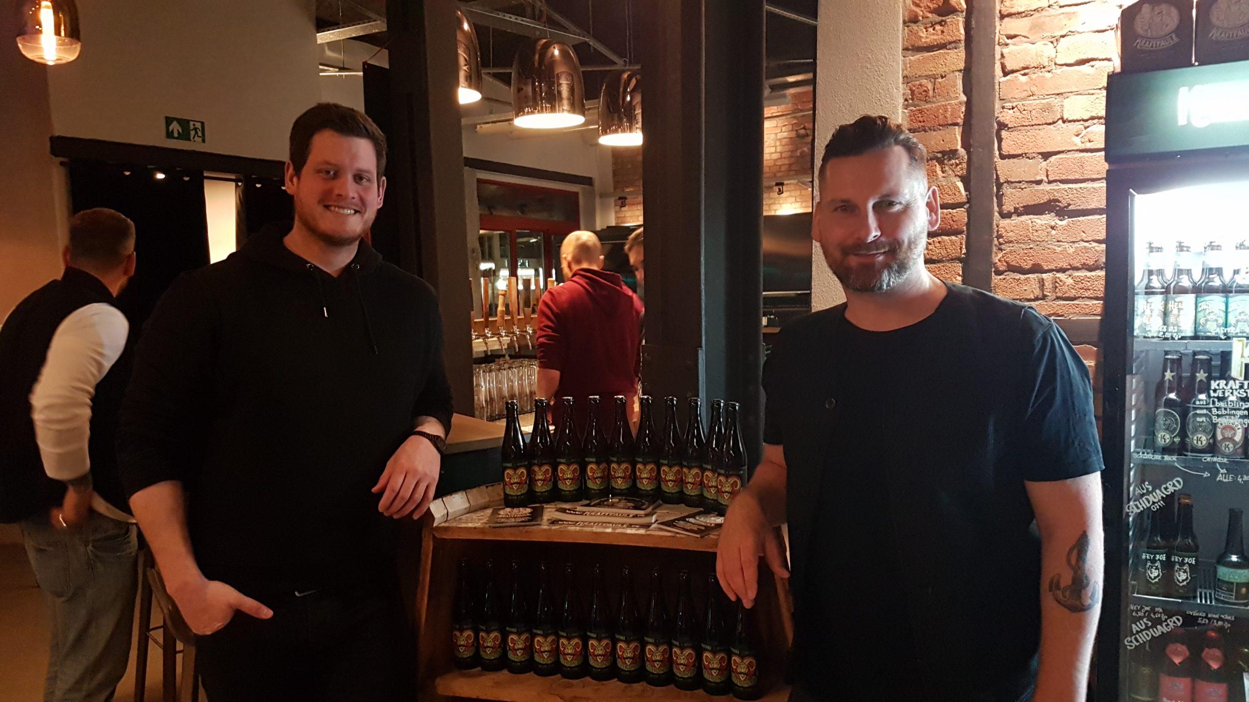 Christoph Kern (links) und Thorsten Schwämmle vom Kraftpaule